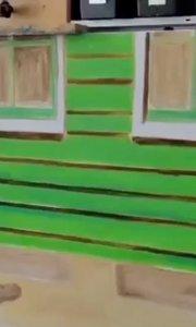 北京艺方美术学员崔百合作品《荷兰民居》第三阶段#原创油画绘画##零基础学油画##风景人物油画##书画之美