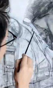 北京艺方学员李景瑞油画作品《明日边缘》女主角 第三阶段 北京油画班#北京油画培训##零基础油画课程##书画之美