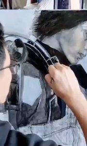 北京艺方学员李景瑞油画作品《明日边缘》女主角 第四阶段 北京油画班#北京油画培训##零基础油画课程##书画之美
