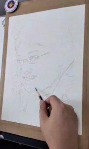 为中国加油!为一线加油!为武汉加油!水彩肖像绘画《韩红》第一阶段#水彩网络培训##水彩绘画##水彩网络班##书画之美