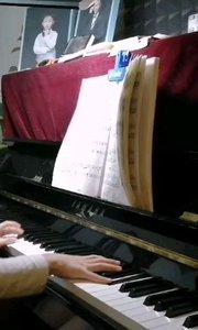 不断练习的c小调奏鸣曲第一乐章