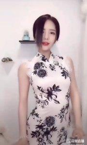 @兰可儿v #旗袍的魅力 一