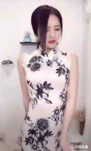 @兰可儿v #旗袍的魅力 二