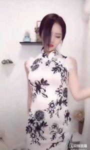 @兰可儿v #旗袍的魅力 三