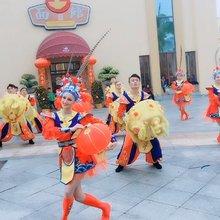 街面表演闹新春!珠海海泉湾