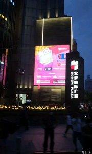 夜幕下的上海