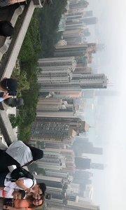 香港山顶观看港