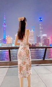 上海恢复了繁华 #水墨旗袍风韵