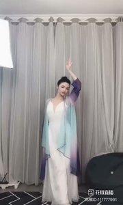 #精彩录屏赛  @凌小九 俏立黄昏,笑问粥可温的dancer《闲庭絮》
