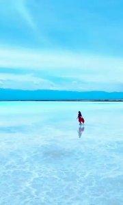 #十一出游随手拍  掌个镜。第一站·茶卡盐湖