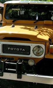 1965年丰田40国外正常使用 车况太好了#户外动起来 #老爷车 #丰田 #书画之美 #老车 #花椒之子