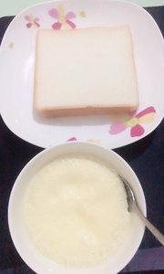 炖鸡➕咸方包,我的早餐