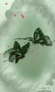 素描蝴蝶 蝴蝶成双飞, 孤灯照画人。 寄语解相思, 说与谁来疼。 ……