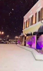 哈尔滨的第二场雪❄️