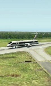 老铁们猜一下这飞机✈真的还是假的啊???