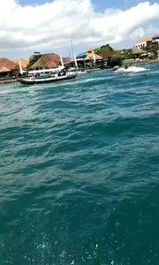 漂亮吗?好大的海,风景好美?️?️?️?️