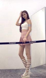 Facepower颜视频:模特张帆美腿美颜SOLO