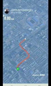 2019北京线上马拉松10㎞,实际夜跑18.5㎞,挑战不可能