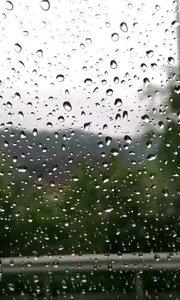 在雨中??