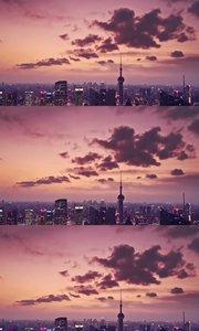 看看夜里的上海
