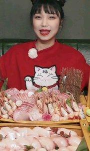 冬日里的海鲜大戏!拆卸一整条章红鱼刺身,为吃这一口愿做海的女儿!