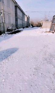 春雪很美,也很短