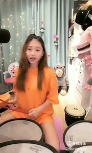 @会打鼓的大橙子?? ⑦ #花椒音乐人 #主播的高光时刻 #魔音绕耳 #热门卡点 #我怎么这么好看 ?