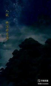人说,林深是见鹿,海蓝时见鲸,梦醒时见你。可实际确实林深时起雾,海蓝时浪涌,梦醒时夜续。但是终究,鹿踏雾而来,鲸随浪而起,你没回头,又怎知我不在?