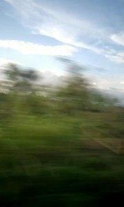 虽然第一次坐高铁,但感觉200时速都好慢!