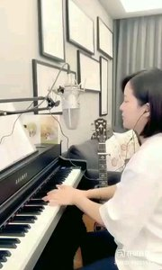 请欣赏音乐才女@爱唱歌的松叶叶 99955577钢琴弹唱日语经典《樱花》#爱唱歌的松叶 #弹唱最治愈