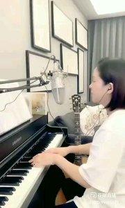 请欣赏音乐才女@爱唱歌的松叶叶 99955577钢琴弹唱日语版《山茶花》#爱唱歌的松叶 #花椒音乐人