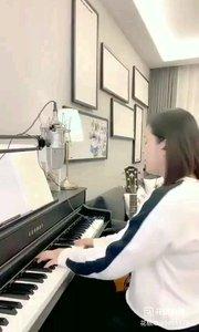 请欣赏音乐才女@爱唱歌的松叶叶 99955577钢琴弹唱意大利咏叹调《我亲爱的爸爸》#爱唱歌的松叶 #花椒音乐人