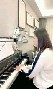 请欣赏音乐才女@爱唱歌的松叶叶 99955577钢琴弹唱《一次就好》#爱唱歌的松叶 #花椒音乐人