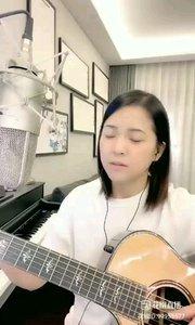 @爱唱歌的松叶叶 吉他?弹唱《月牙泉》#爱唱歌的松叶 #花椒音乐人