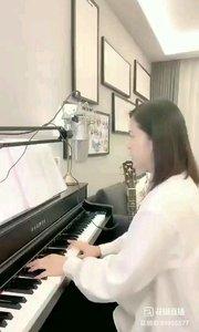 @爱唱歌的松叶叶 钢琴弹唱《起风了》#爱唱歌的松叶 #花椒音乐人