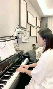@爱唱歌的松叶叶 钢琴弹唱《雪落下的声音》#爱唱歌的松叶 #花椒音乐人