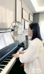 @爱唱歌的松叶叶 钢琴弹唱《时间煮雨》#爱唱歌的松叶 #花椒音乐人
