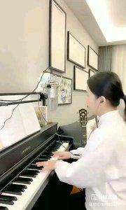 @爱唱歌的松叶叶 钢琴弹唱《等你》#爱唱歌的松叶 #花椒音乐人