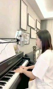 @爱唱歌的松叶叶 钢琴弹唱英语经典《你鼓舞了我》#爱唱歌的松叶 #花椒音乐人