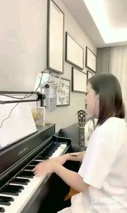 @爱唱歌的松叶叶 钢琴弹唱《梨花又开放》#爱唱歌的松叶 #花椒音乐人
