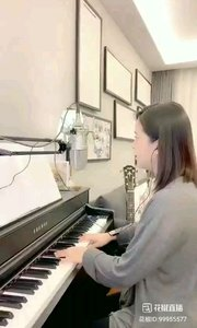 @爱唱歌的松叶叶 钢琴弹唱披头士英语经典yestirday#爱唱歌的松叶 #花椒音乐人
