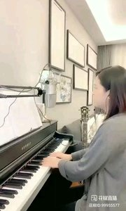 @爱唱歌的松叶叶 钢琴弹唱英语经典《恋人未满》#爱唱歌的松叶 #花椒音乐人