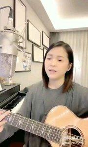 @爱唱歌的松叶叶 吉他?弹唱《我想握住你的手》#爱唱歌的松叶 #花椒音乐人