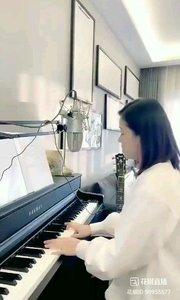 @爱唱歌的松叶叶 钢琴弹唱《隐形的翅膀》#爱唱歌的松叶 #花椒音乐人