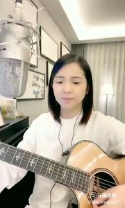 @爱唱歌的松叶叶 吉他弹唱英语经典★披头士《嘿jude》上#爱唱歌的松叶 #花椒音乐人