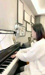 @爱唱歌的松叶叶 钢琴弹唱《白天不懂夜的黑》#爱唱歌的松叶 #花椒音乐人