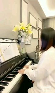 @爱唱歌的松叶叶 钢琴弹唱英语经典《The power of Love》下#爱唱歌的松叶 #花椒音乐人