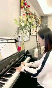 @松叶叶?? 钢琴弹唱(我等到花儿也谢了)#爱唱歌的松叶 #花椒音乐人
