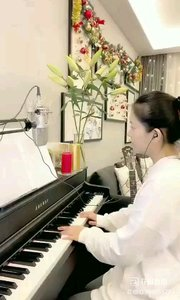 @松叶叶?? 钢琴弹唱意大利歌剧片段《我亲爱的爸爸》#爱唱歌的松叶 #花椒音乐人 #主播的高光时刻