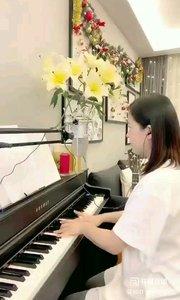 @松叶叶?? 钢琴弹唱《电台情歌》#爱唱歌的松叶 #花椒音乐人 #主播的高光时刻